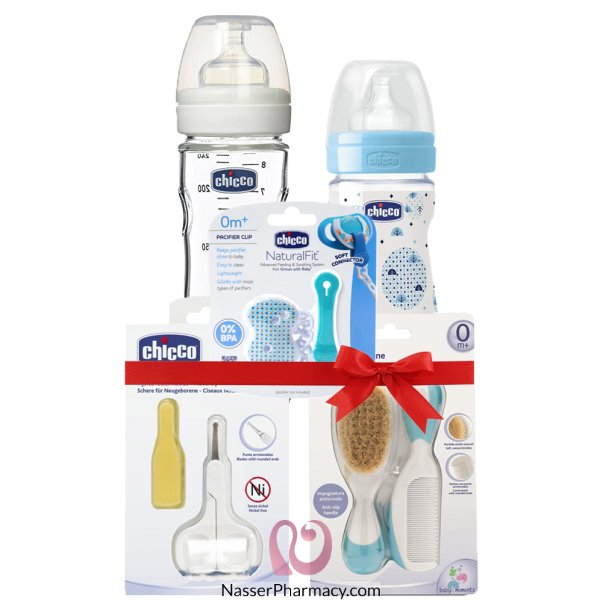 Chicco New Born Baby Boy Gift Pack 3