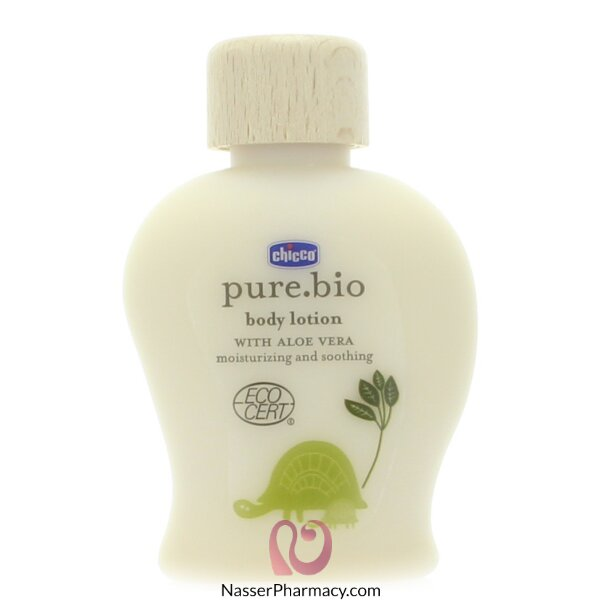 Chicco Pure.bio Body Lotion Soothing & Moisturizing - 100ml