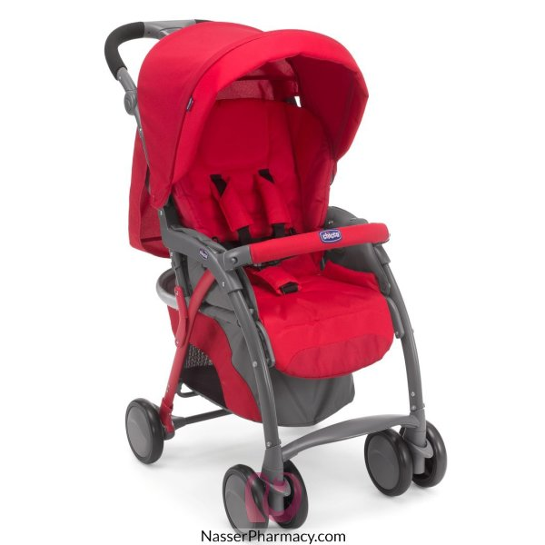 Chicco Simplictiy Top Stroller - Red