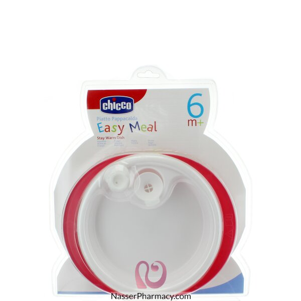 Chicco Stay Warm Dish Red