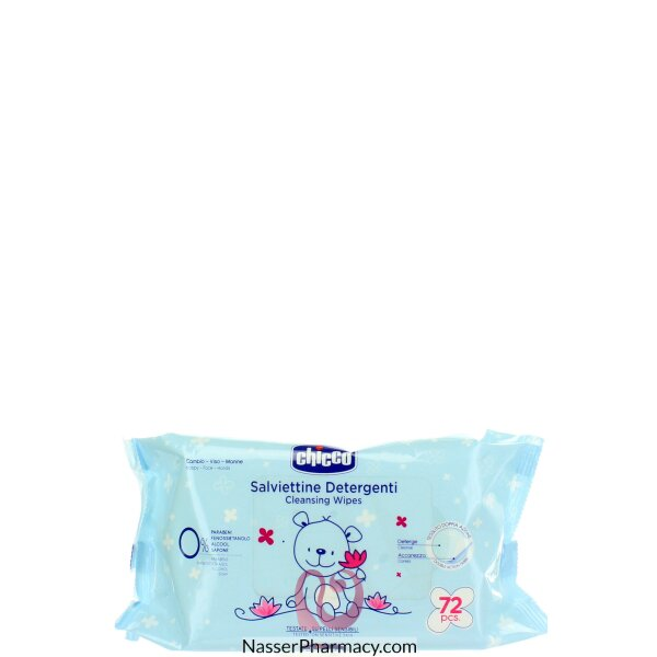 Chicco Wipes 72 Pcs Without Flip Cover