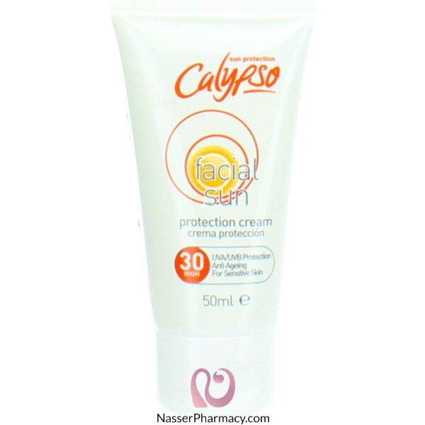 كاليبسو (calypso) كريم حماية للوجة من الشمس - معامل حماية 30 -  100 مل
