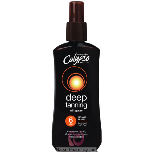Calypso Monoi Tahiti Oil Spf6 Spray 200ml