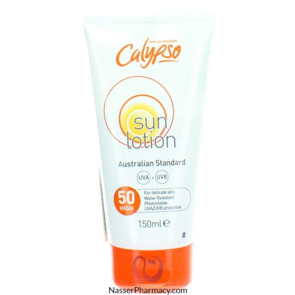 Calypso Sun Protection Sun Lotion Spf 50 High 150ml