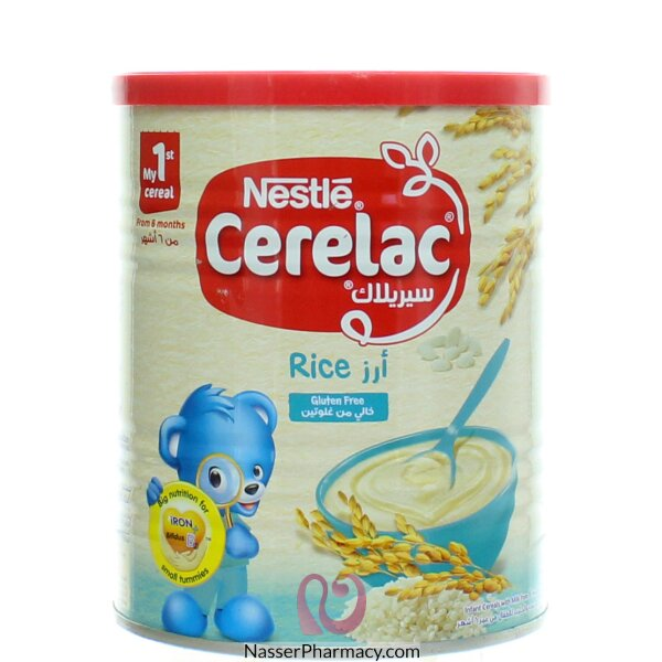 Cerelac Rice Cereal  From 6 Months 400g