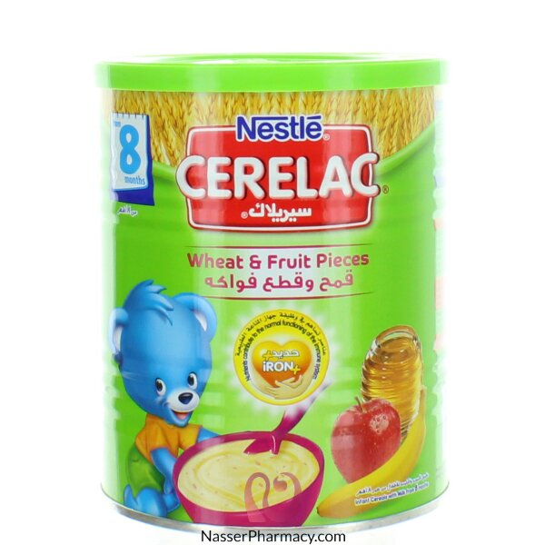 Cerelac Wheat And  Fruit - From 8 Months -  400g