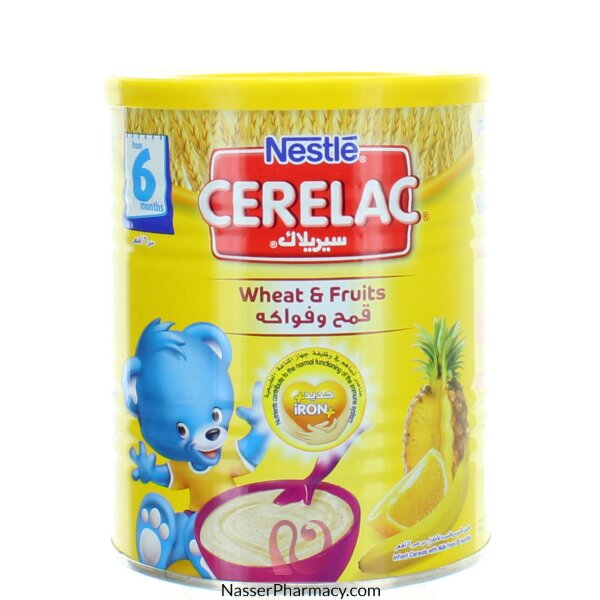 Cerelac  Wheat & Fruits From 6 Months 400 G