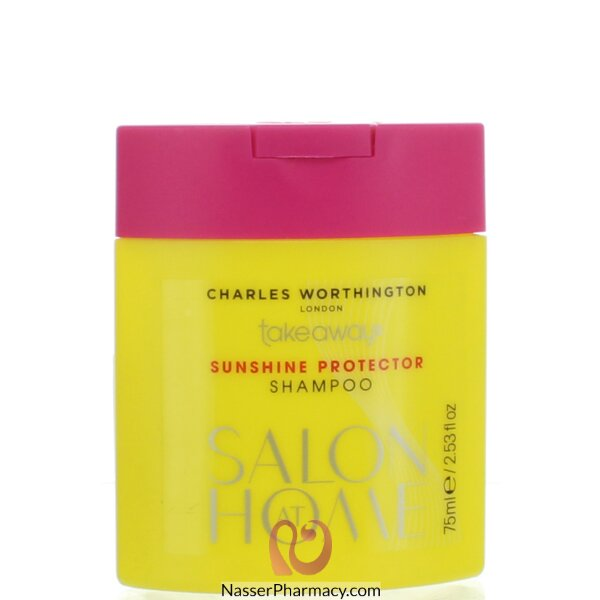 Charles Worthington Takeaways Sunshine Uv Protection Shampoo 75ml
