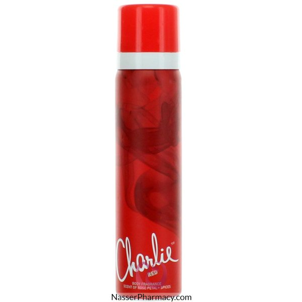 Charlie  B/spray Red 75ml-8483