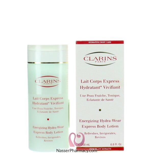 Clarins New! Energizing Hydra-wear Express Body Lotion 200 Ml