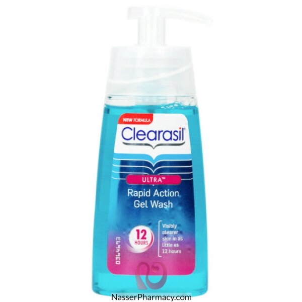 Clearasil Ultra Rapid Action Gel Wash 12 Hours  150 Ml