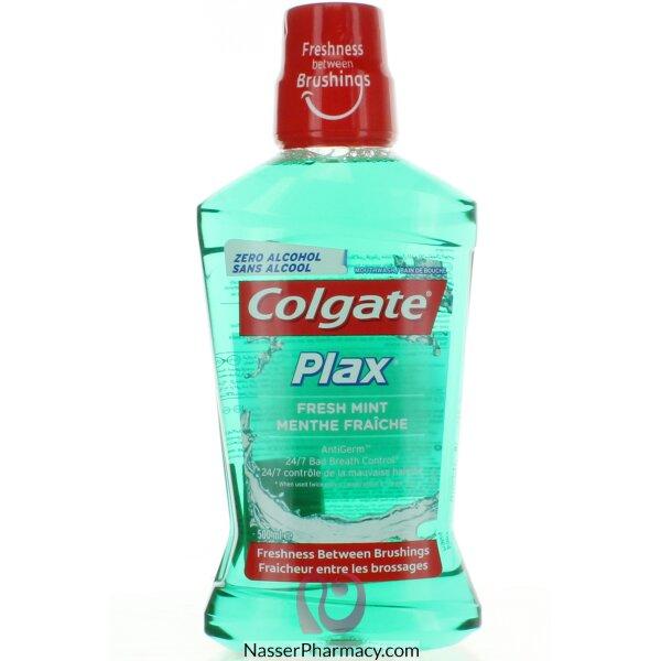 تسوق أونلاين كولجيت بلاكس غسول الفم بالنعناع الأخضر المنعش 500 مل من صيدليات ناصر البحرين