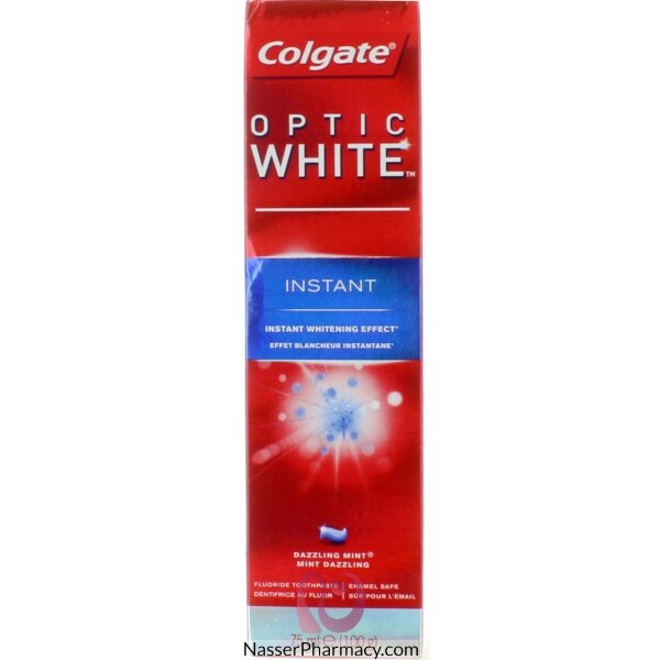 Colgate Optic White Instant 75ml