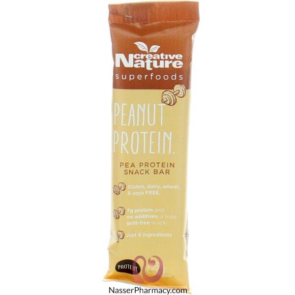 كرييتف ناتشر Creative Nature بار بروتين فول سوداني  38 جرام