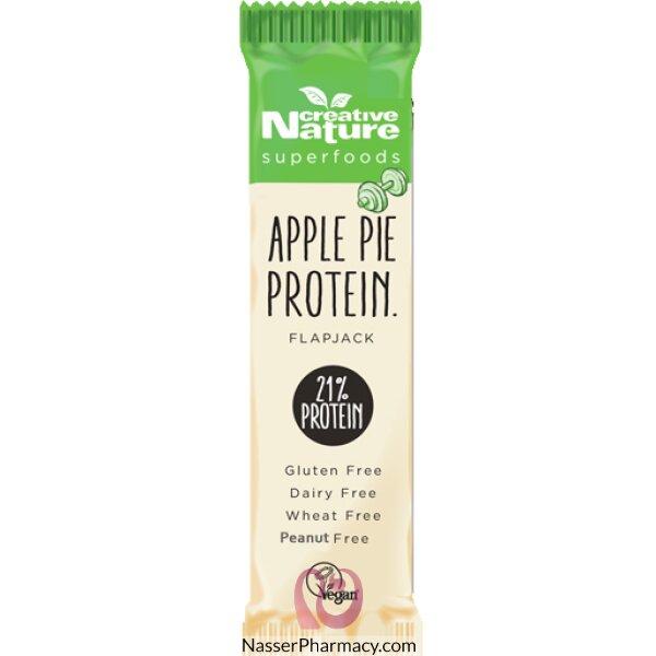 كرييتف ناتشر Creative Nature بار فلابجاك بروتين بفطيرة التفاح 40 جرام