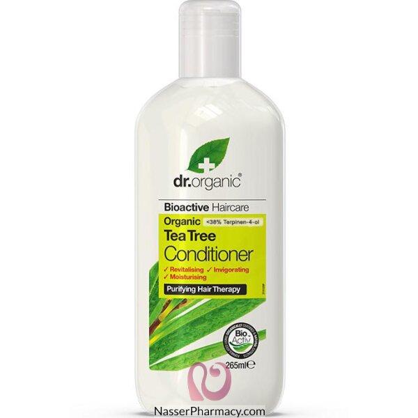 د.أورجانك  Dr Organic بلسم الشعر بخلاصة شجرة الشاي - 265مل