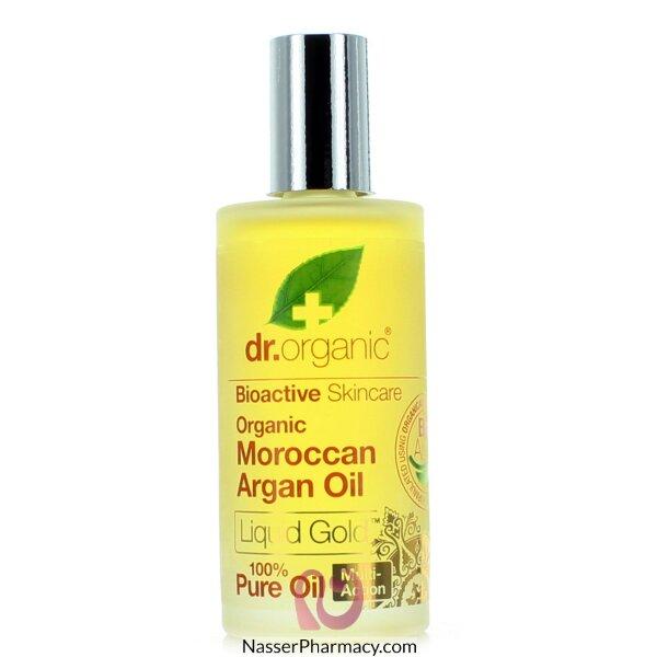 د.أورجانك Dr Organic   زيت أرجان مغربي نقي - 50مل
