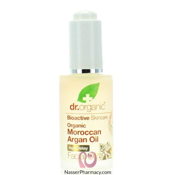 د.أورجانك Dr Organic  زيت الأرجان المغربي للوجه - 30مل