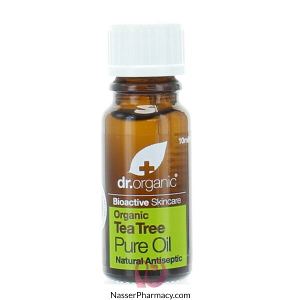 د.أورجانك Dr Organic  زيت شجرة الشاي النقي - 10مل