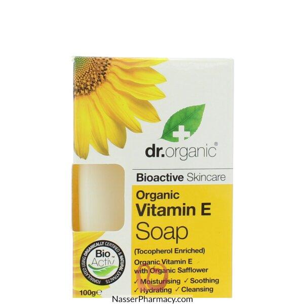 د.أورجانك Dr Organic  صابون فيتامين اي - 100جم