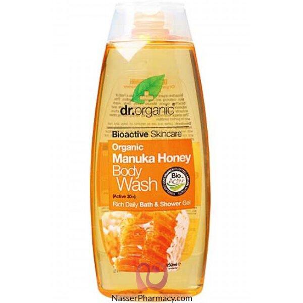 د.أورجانك Dr Organic  غسول للجسم بخلاصة عسل المانوكا - 250مل