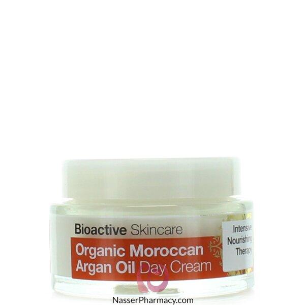د.أورجانك  Dr Organic كريم يومي بزيت الأرجان المغربي - 50مل