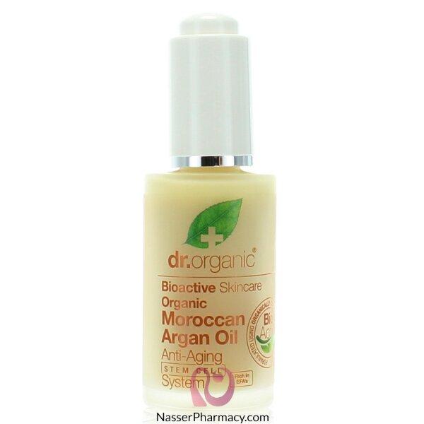 د.أورجانك Dr Organic  مقاوم لعلامات تقدم السن بزيت الأرجان المغربي - 30مل