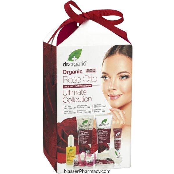 د.أورجانك ( Dr Organic Rose Ultimate) مجموعة هدية - 6 قطع