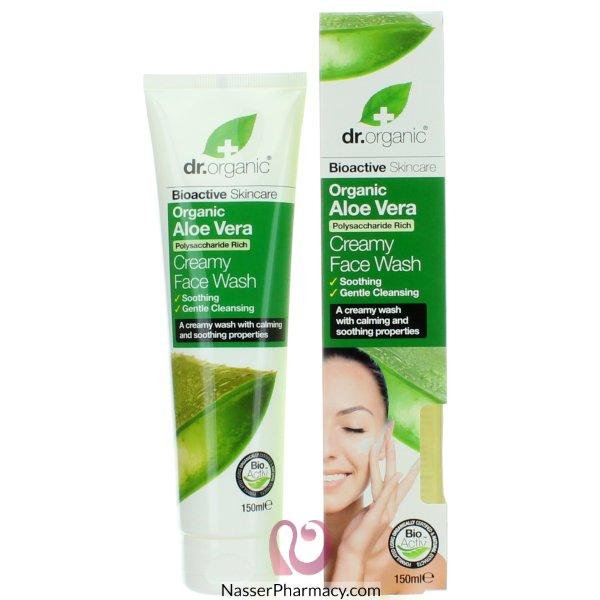 Dr Org Aloe  Vera Creamy  Face  Wash 150ml