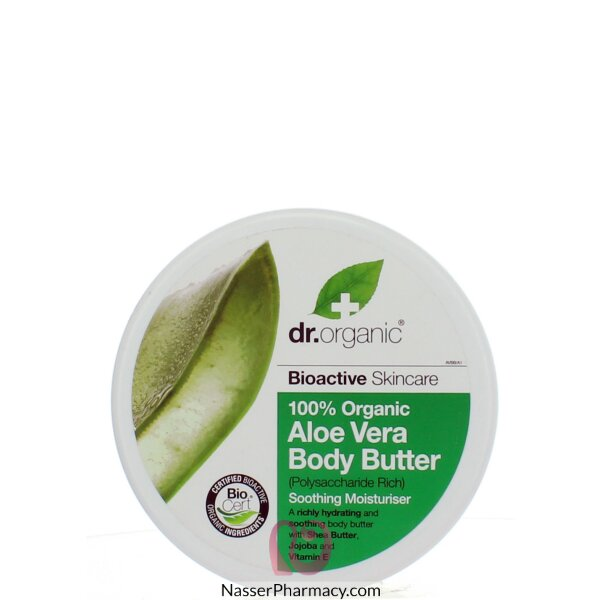 Dr Organic Aloe Vera Body Butter 200ml