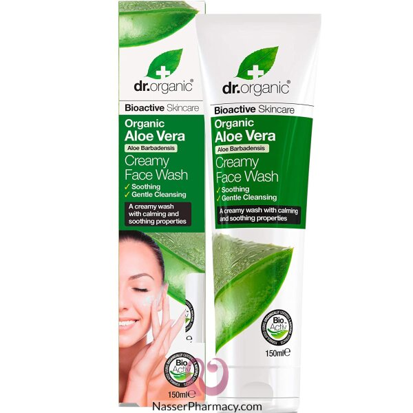 Dr. Organic Aloe Vera Creamy Face Wash 150ml