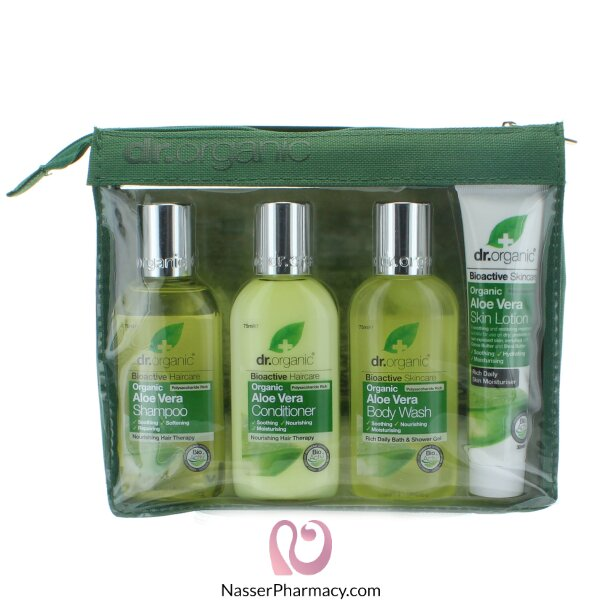 Dr Organic Aloe Vera Mini Travel Pack