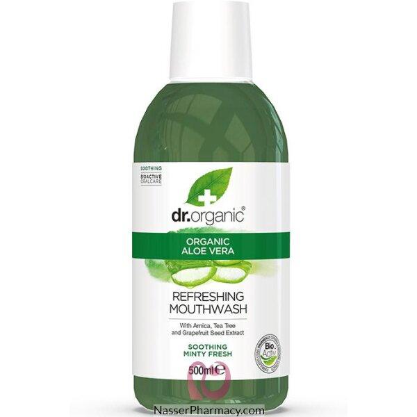 Dr Organic Aloe Vera Mouthwash - 500ml