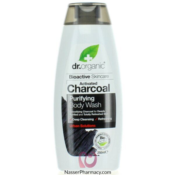 Dr. Organic Charcoal Body Wash 250ml-00548