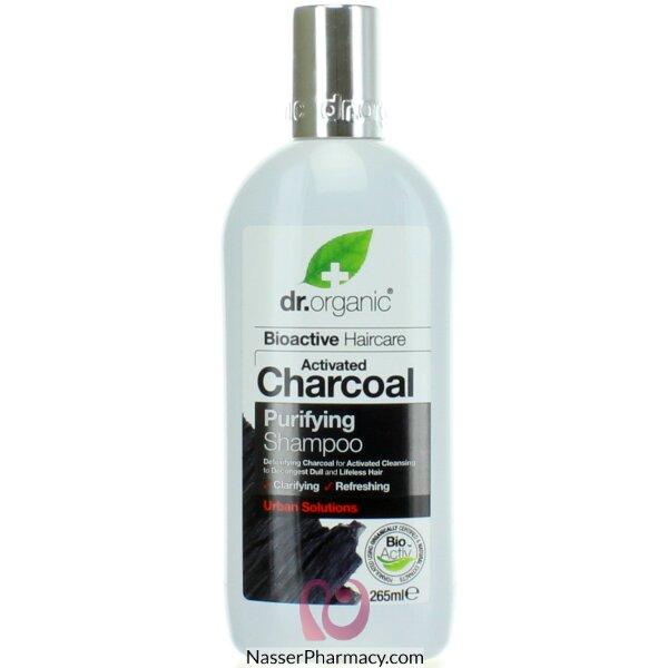Dr. Organic Charcoal Shampoo 265ml-00546