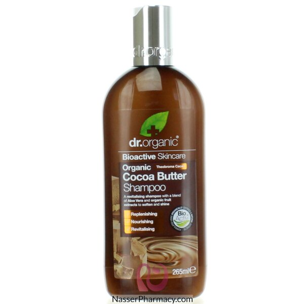 Dr. Organic Cocoa Butter Shampoo 265ml-00534