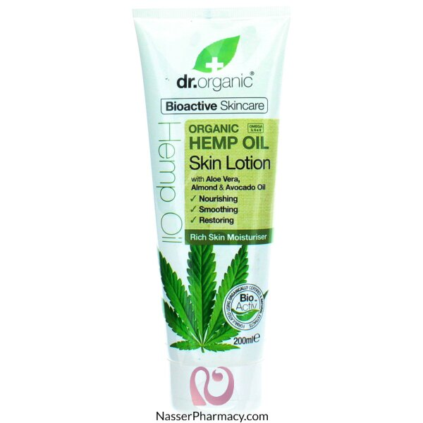 Dr Organic Hemp Oil Lotion 200ml