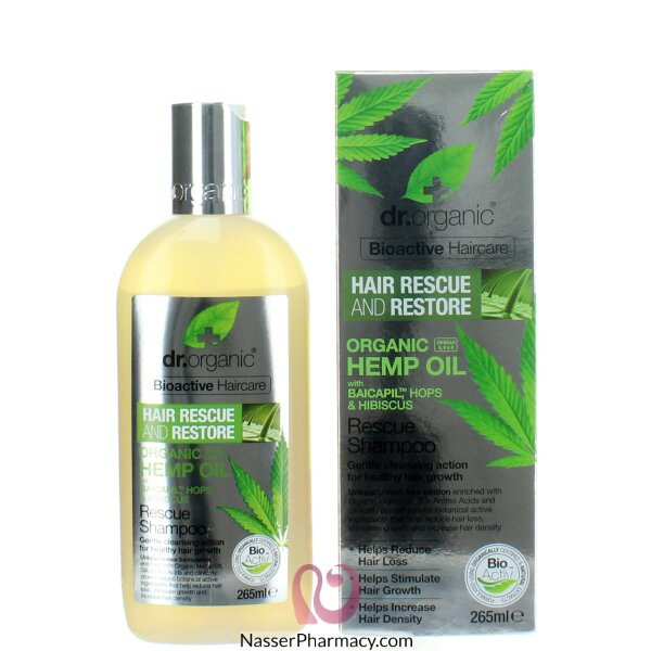 Dr Organic Hemp Oil Rescue Shampoo 265ml