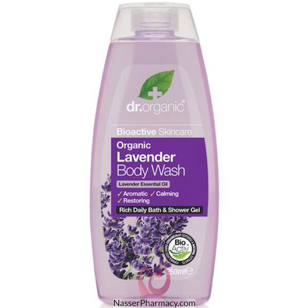 Dr Organic Lavender Body Wash - 250ml