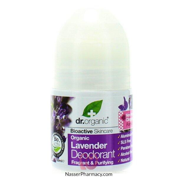Dr Organic Lavender Deodorant- 50ml