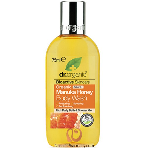 Dr. Organic Manuka Honey Body Wash Travel Size 75ml-dr00323