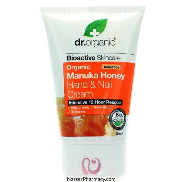 Dr Organic Manuka Honey Hand & Nail Cream - 125ml