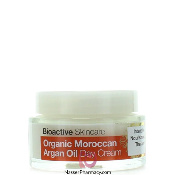 Dr Organic Moroccan Argan Oil Day Cream - 50ml