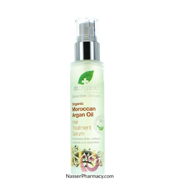 Dr Organic Moroccan Argan Oil Hair Treatment Serum - 100ml