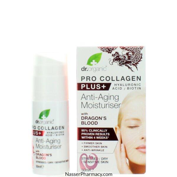 Dr. Organic Pro Collagen+ Anti-aging Moisturiser With Dragon&#39s Blood 50ml-00558