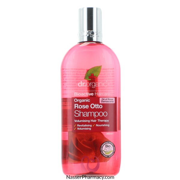 Dr Organic Rose Otto Shampoo - 265ml