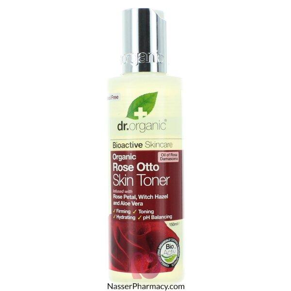 Dr Organic Rose Otto Skin Toner - 150ml