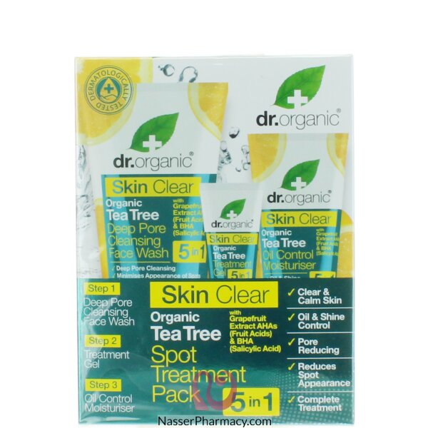 Dr. Organic Skin Clear 5 In 1 Spot Treatment Pack-00538