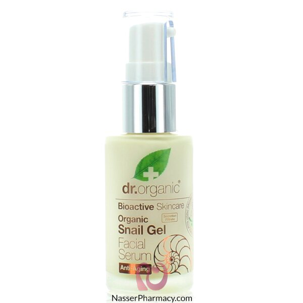 Dr Organic Snail Gel Face Serum - 30ml