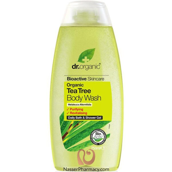 Dr Organic Tea Tree Body Wash - 250ml